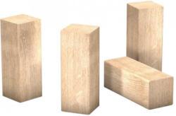 Eckstäbchen für Laminat-Sockelleiste Hickory ca. 22 x 22 x 60 mm