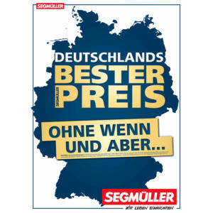 Segmüller Prospekt ⇒ Aktuelle Angebote Januar 2020 - mydealz.de