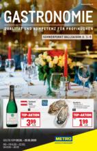 METRO Flugblatt - Gastronomie - 2.1. bis 22.1.