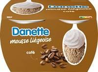 Mousse liégeoise Café Danette Danone