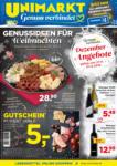 Unimarkt Unimarkt Sonderflugblatt - gültig von 27.12. bis 31.12. - bis 31.12.2019