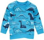 Ernsting's family Baby Langarmshirt mit Dino-Allover