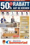 Möbelstadt Sommerlad 50% Rabatt auf 90 Küchen - bis 04.01.2020