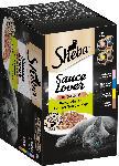 dm-drogerie markt Sheba Nassfutter für Katzen, Sauce Lover, Feine Vielfalt,12x85g