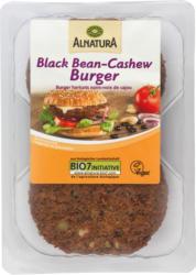 Black-Bean-Cashew-Burger (gekühlt)