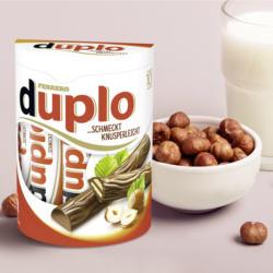 Ferrero Duplo oder Kinder Riegel 10er, jede 182/210-g-Packung