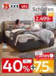 XXXLutz Gesünder Schlafen - bis 19.01.2020