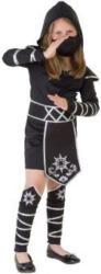 Kostüm - Ninjamädchen - für Kinder - 4-teilig - verschiedene Größen 146/152
