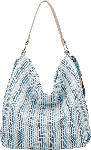 dm-drogerie markt Vleder-Bag Handtasche MAJA blau