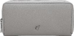 Vleder-Bag Clutch / Geldbörse SEATTLE grau