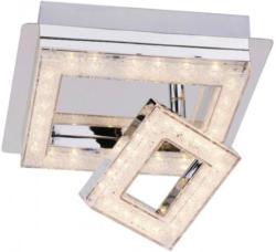 LED-Deckenspot 2flg. 19x19 cm