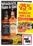 Maximarkt Maximarkt Flugblatt 20.01. bis 25.01. Whiskey, Rum & Gin - bis 25.01.2020