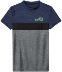 Jungen Sport-T-Shirt in Melange-Optik
