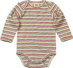 ALANA Baby Body, Gr. 62/68, in Bio-Baumwolle, bunt, für Mädchen und Jungen