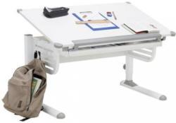Schreibtisch In Metall, Holzwerkstoff 110/63-93/60 Cm