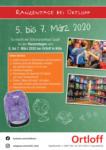 Ortloff Schulranzentage 2020 - bis 02.03.2020