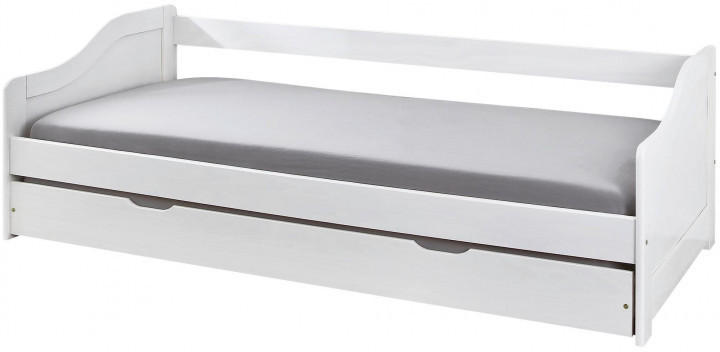 Funktionsbett Leonie weiß 90x200 cm