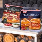 real Dr. Oetker Pizza Tradizionale Salame Romano oder Pizza Burger Salami gefroren, jede 370/365-g-Packung und weitere Sorten - bis 25.01.2020