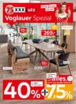 XXXLutz Voglauer Spezial - bis 26.01.2020