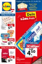 LIDL Flugblatt FOOD ab Do, 23.01. und ab Mo, 27.01. - Kärnten, Steiermark, Osttirol