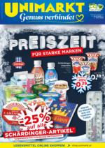 Unimarkt Flugblatt - gültig von 22.1. bis 28.1.