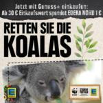 Retten Sie die Koalas