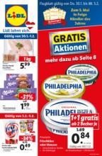 LIDL Flugblatt FOOD ab Do, 30.01. und ab Mo, 3.2. - Kärnten, Steiermark, Osttirol