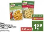 ADEG Knorr Spaghetteria od. Veggie Fertiggerichte - bis 01.02.2020