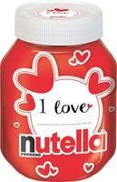 Nutella Brotaufstrich Valentin Edition
