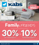 Kabs PolsterWelt Online Family & Friends 30 % Aktionsrabatt - bis 11.02.2020