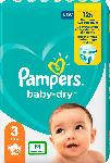 dm-drogerie markt Pampers Windeln Baby Dry, Größe 3 Midi, 6-10kg, Einzelpack