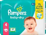 dm-drogerie markt Pampers Windeln Baby Dry, Größe 4 Maxi, 9-14kg, Einzelpack