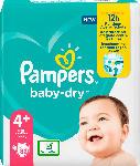 dm-drogerie markt Pampers Windeln Baby Dry, Größe 4+ Maxi Plus, 10-15kg, Einzelpack