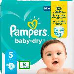dm-drogerie markt Pampers Windeln Baby Dry, Größe 5 Junior, 11-16kg, Einzelpack