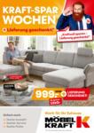 Möbel Kraft Kraft-Spar-Wochen - bis 17.03.2020