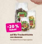 denn's Biomarkt -20% auf ausgewählte Bio-Trockenfrüchte von dennree - bis 11.02.2020