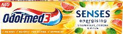 Odol med 3 Zahnpasta senses energising Grapefruit, Zitrone & Minze
