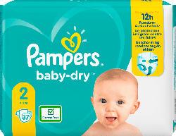 Pampers Windeln Baby Dry, Größe 2 Mini, 4-8kg, Einzelpack