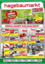 Hagebau Lieb Markt Flugblatt - gültig bis 29.2.