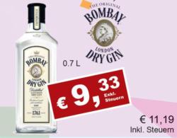 Bombay Dry Gin Original