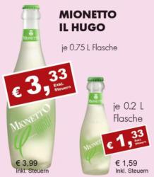 Mionetto Il Hugo Frizzante