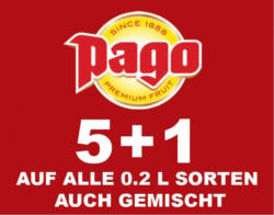 Pago-Säfte 5+1 GRATIS