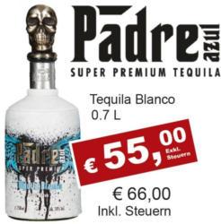 Padre Azul Premium Tequila Blanco