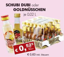 Schubi Dubi oder Goldnüsschen Miniaturen