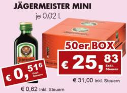 Jägermeister Mini
