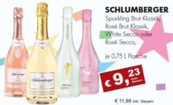 Schlumberger Sparkling Brut/Rosé/White Secco/Rosé Secco
