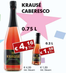 Krausé Caberesco Rosé Frizzante