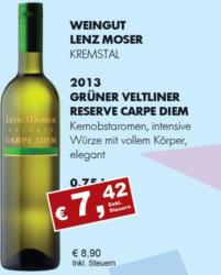 2013 Grüner Veltliner Reserve Carpe Diem