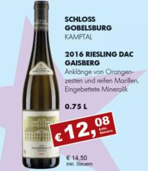 2016 Riesling Kamptal DAC Gaisberg