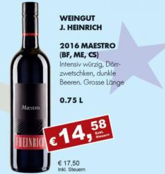 2016 Maestro (Blaufränkisch, Merlot, Cab. Sauvignon)